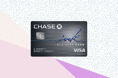 Chase Ink Business Cash card image with background