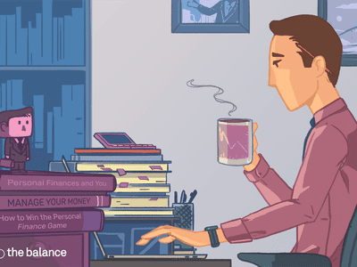 Image shows a man sitting at a desk drinking a cup of coffee with a stack of books next to him. The books are called