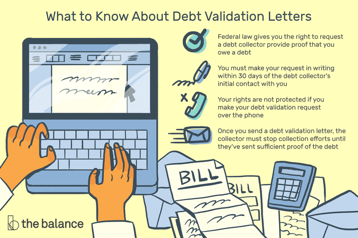 Fdcpa Validation Letter Sample from www.thebalance.com