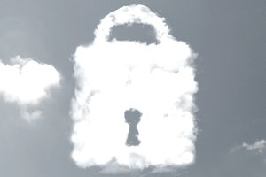 Data cloud security , illustration