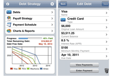 4 iOS Apps for Reducing Debt With the Snowball Method